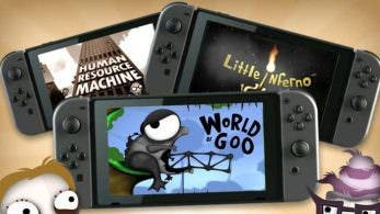 [Act.] World of Goo, Little Inferno y Human Resource Machine llegarán la semana que viene a la eShop europea de Switch