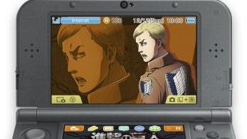 'Attack on Titan: Escape from Certain Death' recibe un nuevo tema exclusivo para 3DS
