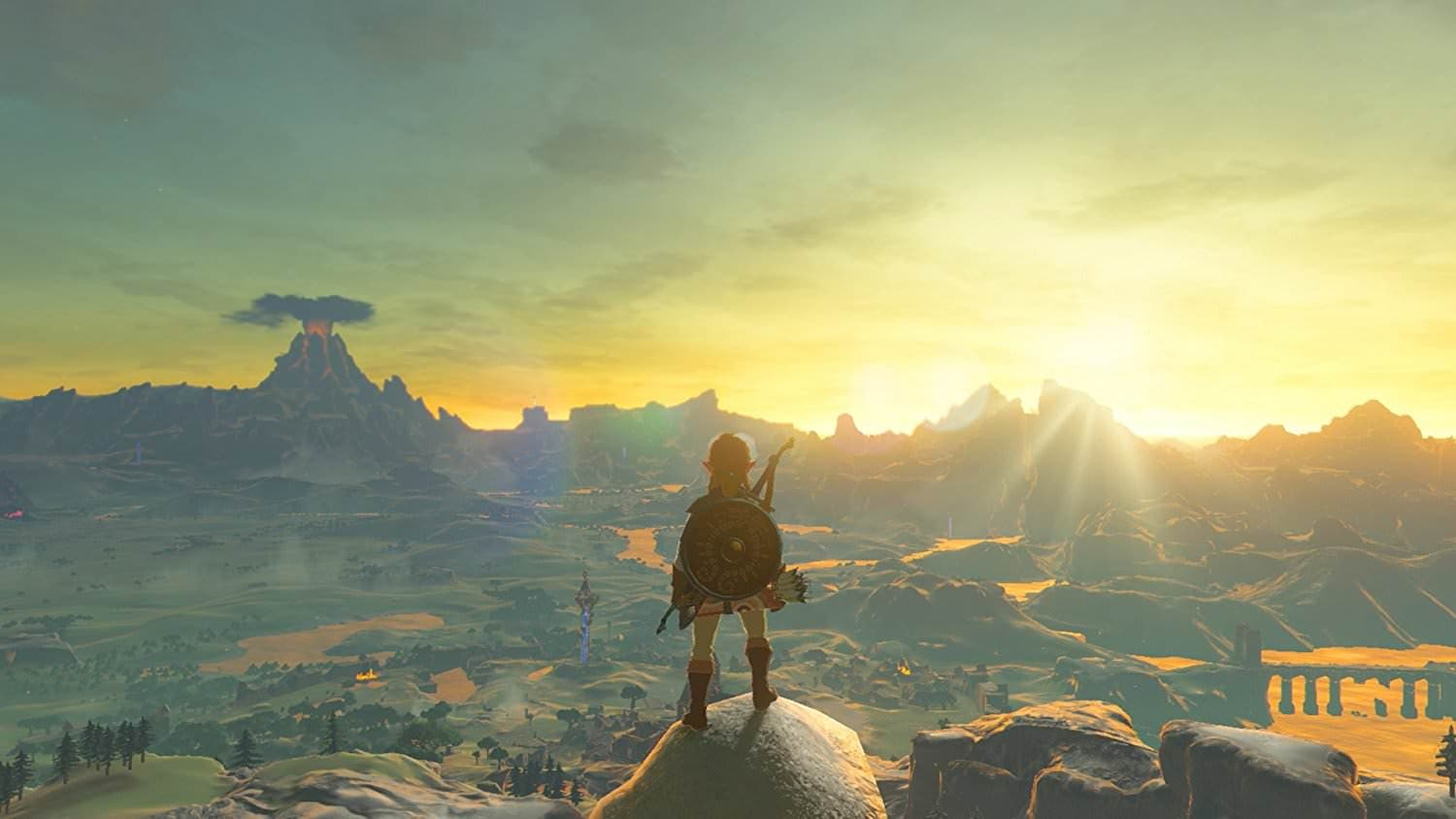Reclama Estos Wallpapers De Zelda Breath Of The Wild Y