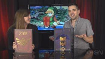 Echa un primer vistazo a los libros de Edición Limitada de 'The Legend of Zelda: Art and Artifacts'