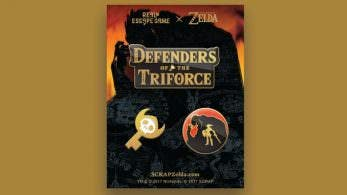 Echa un vistazo al merchandising de 'Defenders of the Triforce'
