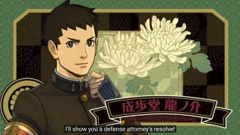 Tráiler de 'The Great Ace Attorney 2' subtitulado al inglés y traducido al español