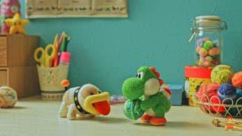 Nintendo comparte un nuevo corto animado de 'Poochy & Yoshi's Woolly World'
