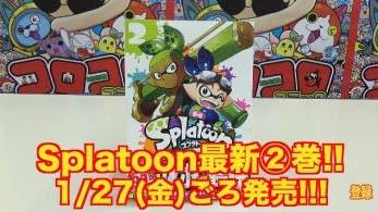 Presentado el segundo tomo del manga oficial de 'Splatoon'