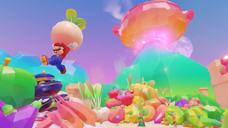 Otro vistazo al Reino de los Fogones y a la animación de cuando Mario pierde en Super Mario Odyssey
