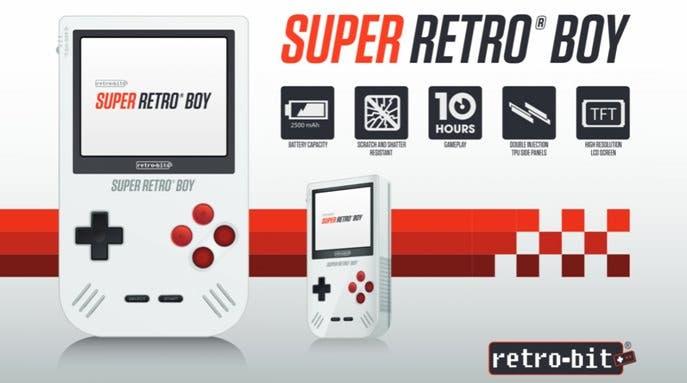 Retro-Bit pone a Super Retro Boy en espera tras la renovación de la marca Game Boy por parte de Nintendo