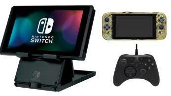 Confirmada una nueva y enorme ronda de accesorios oficiales de HORI para Nintendo Switch