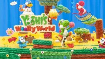 'Yoshi's Woolly World' se actualiza en Japón para añadir soporte al amiibo de Poochy