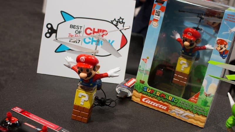 Carrera anuncia dos nuevas figuras voladoras teledirigidas de Mario y Yoshi