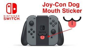 Esta pegatina con forma de lengua para el Grip de Switch consigue su objetivo en Kickstarter