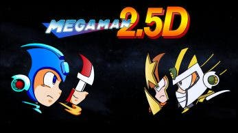Ya está disponible 'Mega Man 2,5D', un juego gratuito fan-made para PC