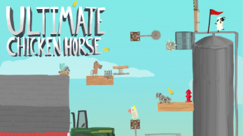 "[Act.] Ultimate Chicken Horse para Nintendo Switch se retrasa hasta 2018 e incluirá la ""Elephantastic Update"""