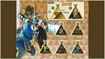 Estos llaveros metálicos de 'The Legend of Zelda' ya pueden adquirirse a través de NCSX