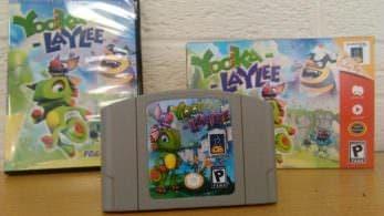 Un vistazo a las recompensas de Nintendo 64 que recibirán los fans que financiaron Yooka-Laylee