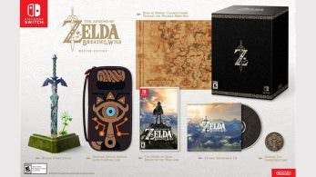 Unboxing de la Master Edition de The Legend of Zelda: Breath of the Wild