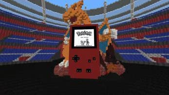 Este fan ha logrado recrear una versión completamente jugable de Pokémon Rojo en Minecraft