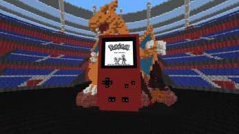 Este fan ha logrado recrear una versión completamente jugable de Pokémon Rojo en Minecraft