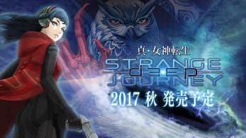 Anunciado Shin Megami Tensei: Deep Strange Journey para Nintendo 3DS