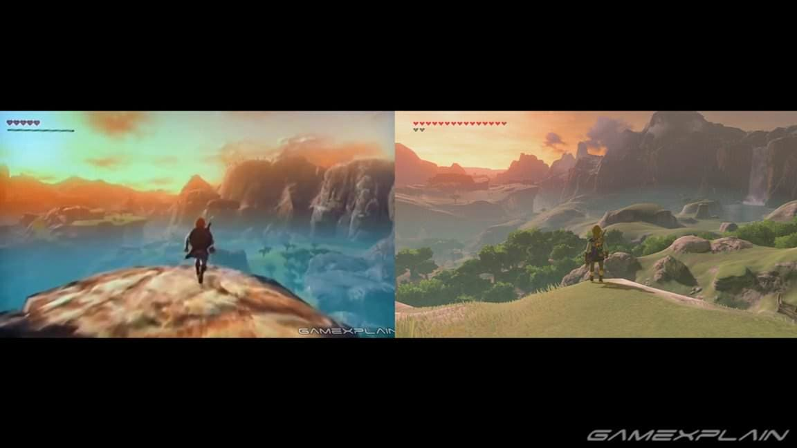 Estos son los elementos de Zelda: Breath of the Wild que se han mantenido desde los Game Awards 2014