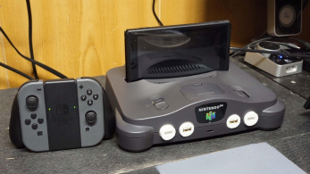 [Act.] Este fan ha convertido su Nintendo 64 en un Dock para Nintendo Switch