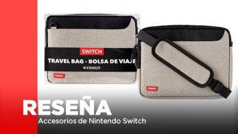 [Reseña] Bolsa de transporte para Switch de Indeca