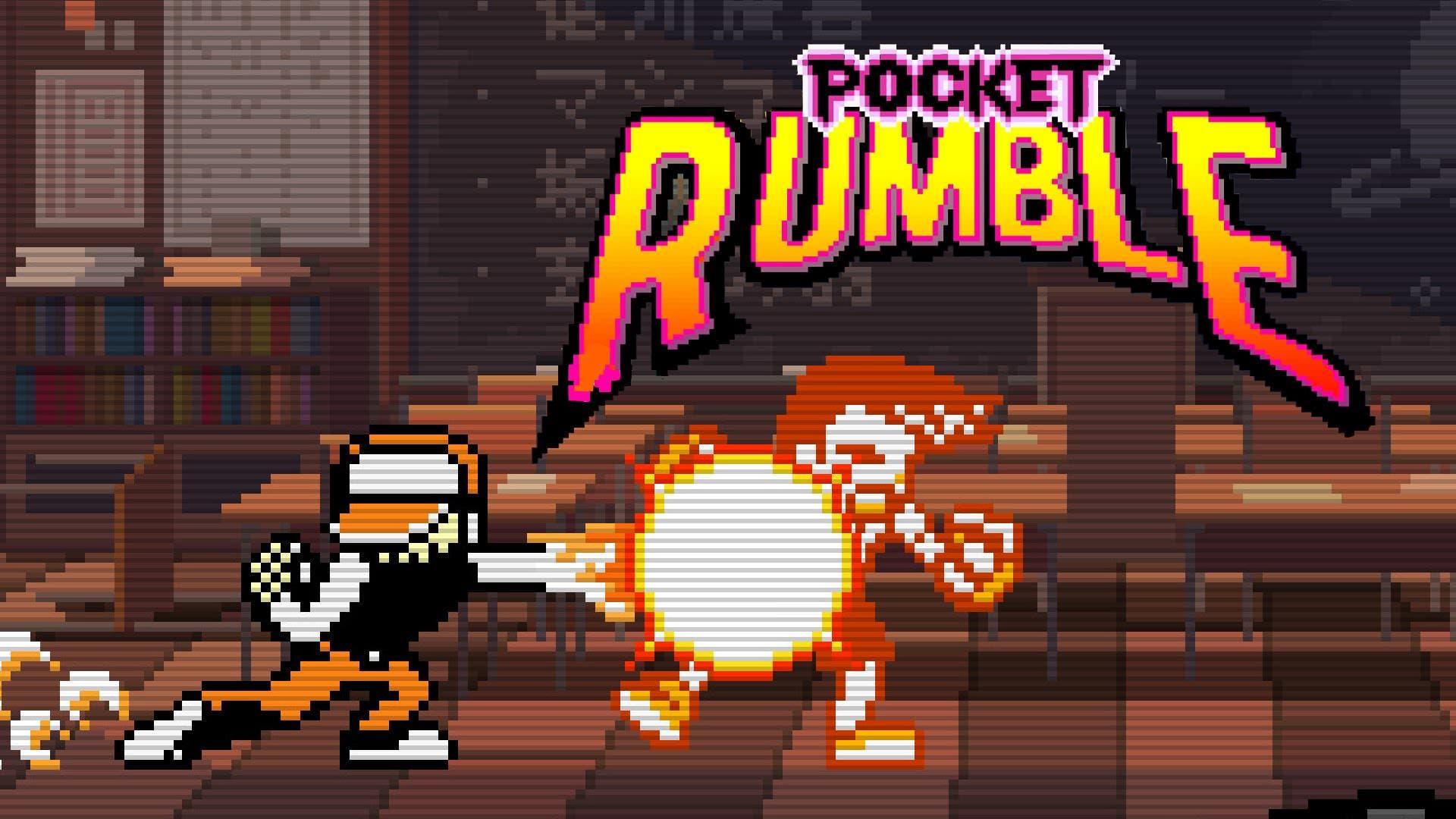 Entrevista al desarrollador de Pocket Rumble: inspiración de Neo Geo, control con dos botones y más