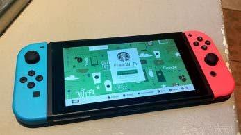 Nintendo Switch tiene un navegador web básico para localizar hotspots