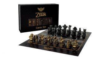 [Act.] Echa un vistazo a este espectacular ajedrez de The Legend of Zelda