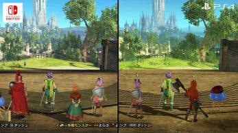 Comparativa en vídeo del frame rate de Dragon Quest Heroes II: Switch vs. PS4
