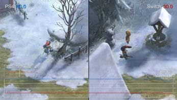 Comparativa en vídeo del frame rate en I am Setsuna: PS4 vs. Switch