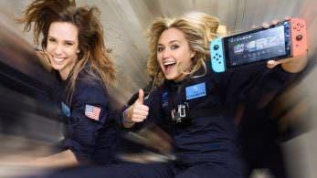 Vídeo: ¿Cómo es jugar a Nintendo Switch en gravedad cero?