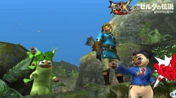 Anunciadas dos nuevas colaboraciones para Monster Hunter XX: Zelda: Breath of the Wild y Ace Attorney