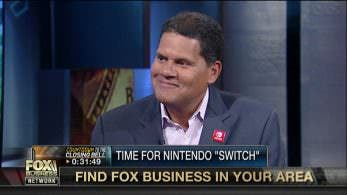 Vídeo: Reggie aparece en Fox Business para hablar sobre Nintendo Switch