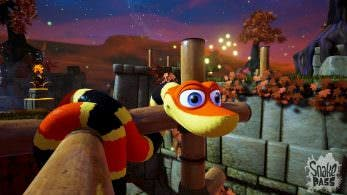 Más de 30 minutos de gameplay de Snake Pass en Switch