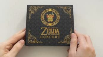Unboxing del álbum The Legend of Zelda 30th Anniversary Concert
