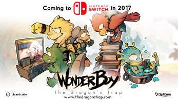 Wonder Boy: The Dragon's Trap se lanza en Switch el 18 de abril