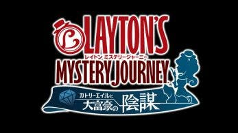 Lady Layton actualiza su nombre a Layton's Mystery Journey: Katrielle and the Millionaire's Conspiracy