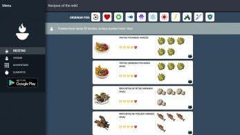 Recipes of the Wild es la guía definitiva para los cocinillas de Zelda: Breath of the Wild
