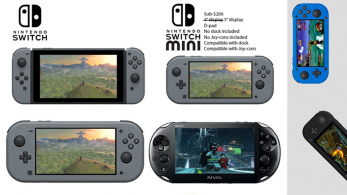 Switch Mini no existe, pero este prototipo fan-made luce realmente bien