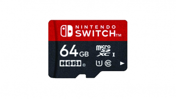 HORI anuncia un tercer formato de 64 GB de tarjetas microSD oficiales para Nintendo Switch