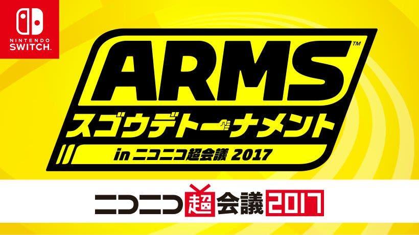 Partidas de exhibición y un torneo se Arms se celebrarán en el Nico Nico Choukaigi 2017, nuevas capturas