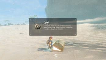 "El ""cofre del tesoro imposible"" de Zelda: Breath of the Wild contiene un mero Ópalo"