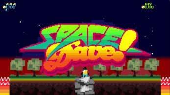 [Act.] Space Dave! confirma su lanzamiento en Nintendo Switch
