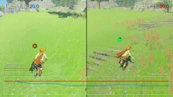 Comparación de la versión 1.1.1 de The Legend of Zelda: Breath of the Wild: Switch vs. Wii U