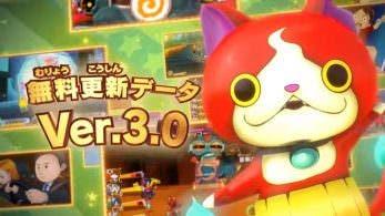 [Act.] Yo-kai Watch 3 recibirá la gran actualización 3.0 este viernes