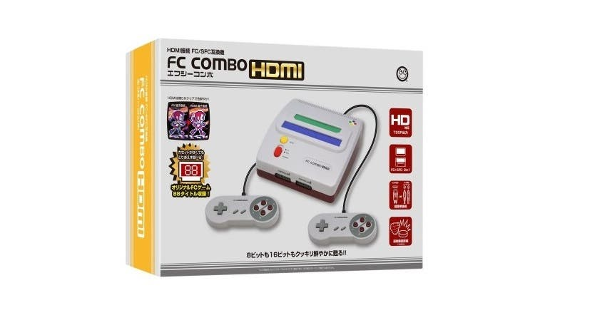 Columbus Circle anuncia su nueva consola FC Combo HDMI