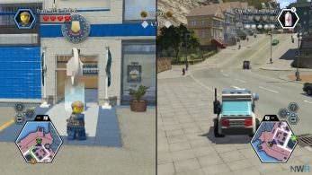 [Act.] Vídeo del modo cooperativo de LEGO City Undercover en Switch, nuevo gameplay