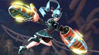 ARMS: se muestran el color alternativo de Ribbon Girl, el arma Sparky y el Laboratorio ARMS