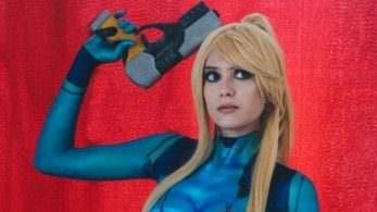 Echa un vistazo a este genial cosplay de Samus realizado con body paint