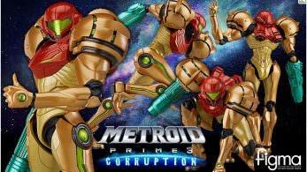 La nueva figma de Samus Aran (Metroid Prime 3: Corruption) se lanzará en octubre y se abren sus reservas